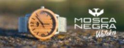 Relojes de madera con correas intercambiables